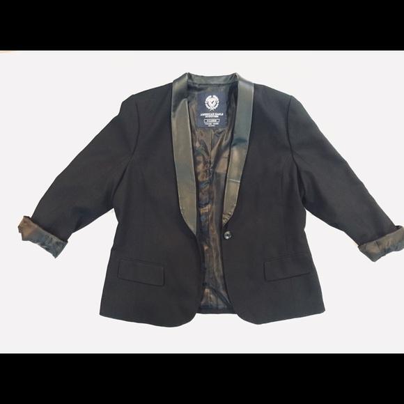 American Eagle Outfitters Jackets & Blazers - American Eagle Black Blazer
